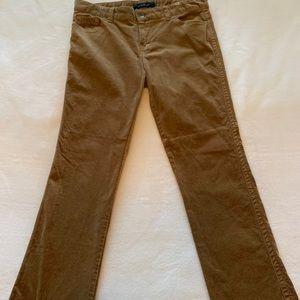 Calvin Klein corduroy Boot leg jeans